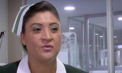 Jefa Fabiana está internada en el Hospital La Raza. Foto: Twitter