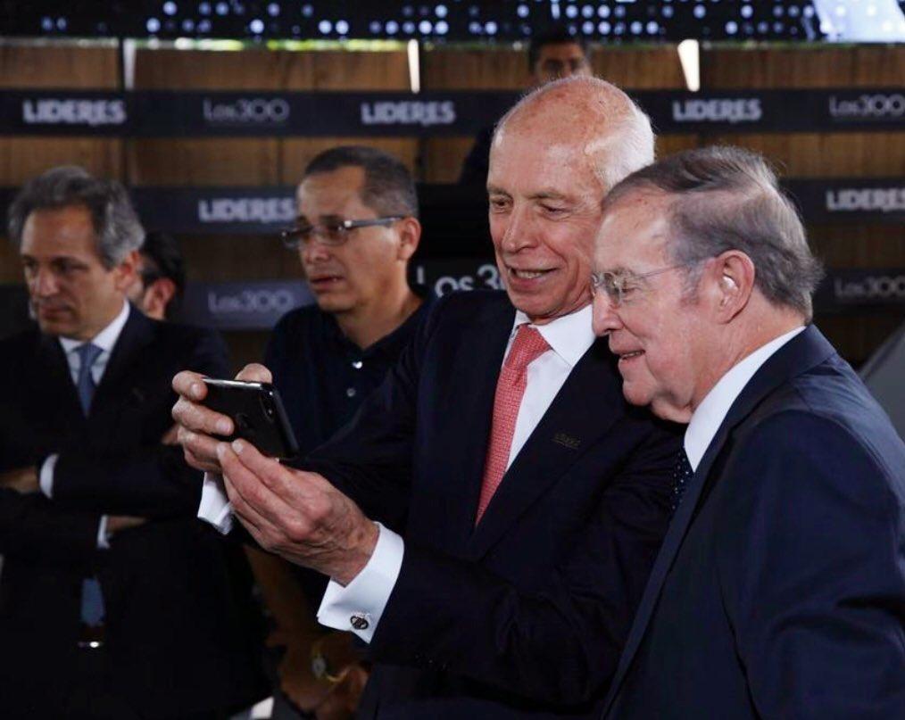 José Ramón Fernández y José Luis Higuera se dieron con todo. Foto: Twitter José Ramón Fernández