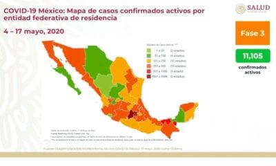 México se acerca a los 50 mil contagios. Foto: Twitter