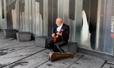 """""""No dejaremos de tocar"""": mariachis de Garibaldi"""