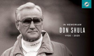 Muere el legendario entrenador Don Shula. Foto: Miami