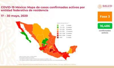 Nueve mil 799 muertos en México por Covid-19