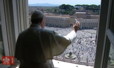 Papa Francisco abre sus puertas para la bendición papal. Foto video Vatican News