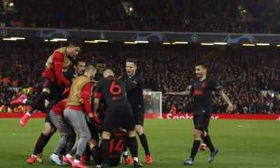 Partido de Champions provocó muerte de 41 personas por Covid-19. Foto: Twitter Atlético de Madrid