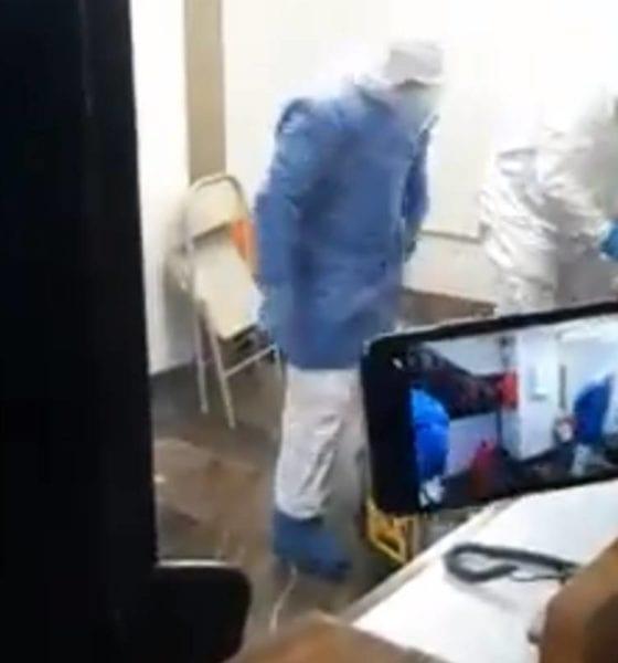 Autoridades del metro desalojan a persona con síntomas de Covid-19