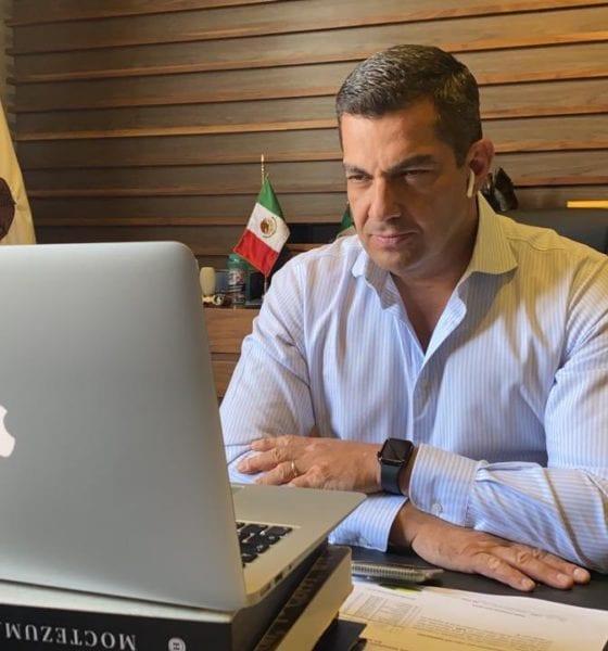 Subsecretario de Gobernación dio positivo por Covid-19. Foto: Secretaría de Gobernación