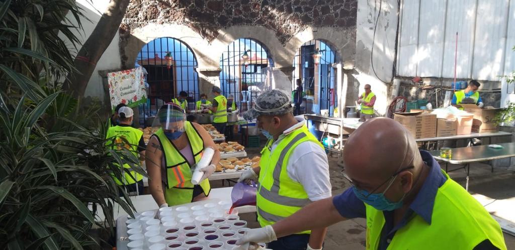 Parroquias de la Arquidiócesis de México abren comedores comunitarios