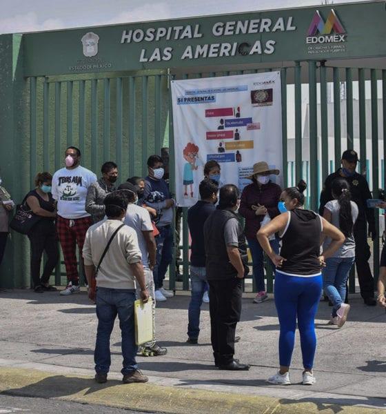 Chocan auto en hospital para que atiendan a mujer con síntomas de Covid