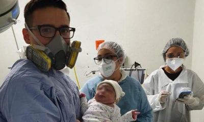 Nace bebé de madre con Covid-19 en Sonora