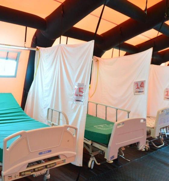 Habilitan Ciudad Jardín de Neza como hospital para enfermos Covid