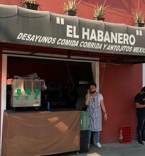 """Desde hace 20 años, el restaurante """"El Habanero"""", alimenta a médicos y enfermeras"""