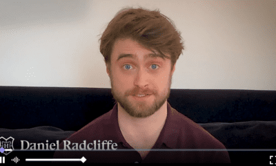Daniel Radcliffe lectura de Harry Potter