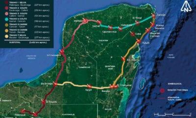 Arrancan obras del Tren Maya en la tercera fase de la pandemia, la más crítica pese a amparo