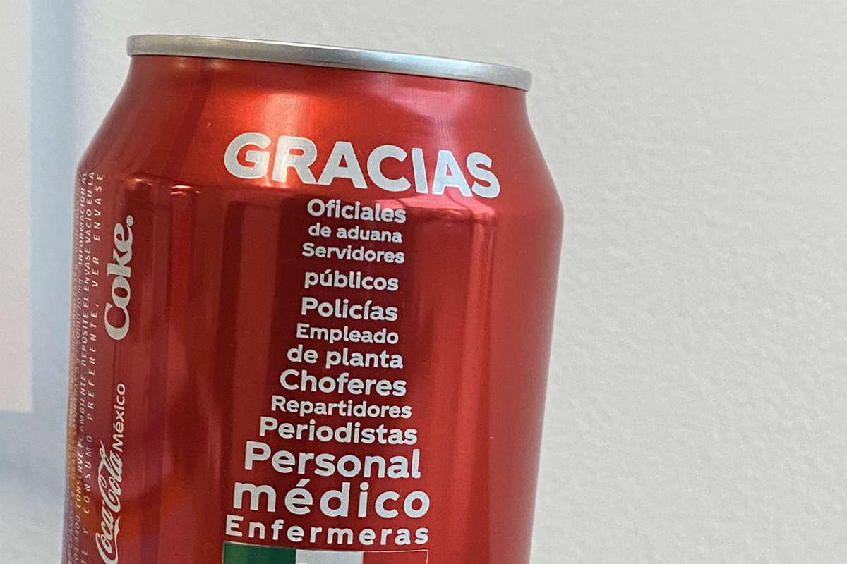 Coca Cola da las gracias a médicos y enfermeras (ESPECIAL)