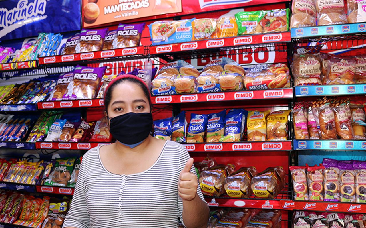 Ante la crisis sanitaria, Bimbo apoya a propietarios de tiendas