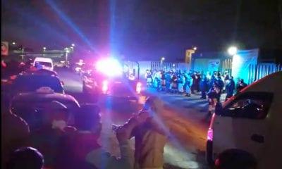 Familiares de pacientes irrumpen en Hospital de Ecatepec