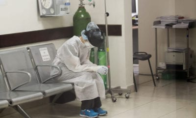 """""""Ya se domó la pandemia y se alejó el riesgo de saturación en los hospitales"""": AMLO"""