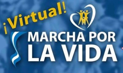 Realizan marcha virtual por la vida en Argentina. Foto: Facebook