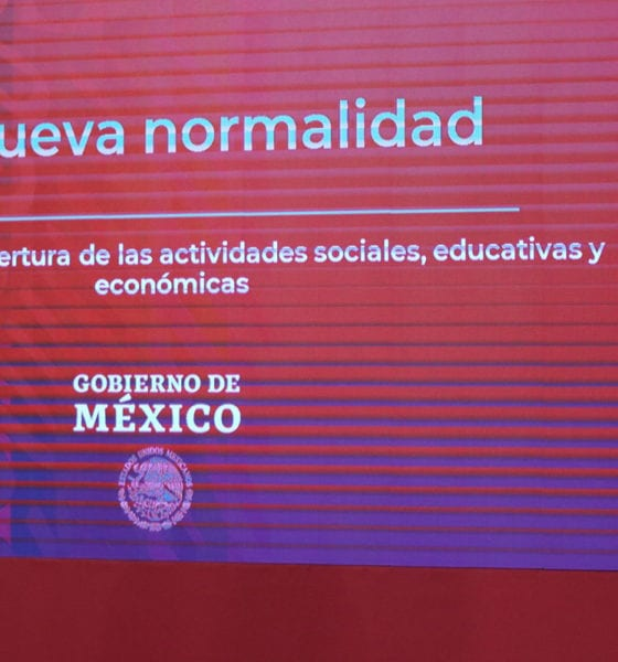 """El Plan de reapertura """"Nueva Normalidad"""" admite la discrepancia: López Obrador"""
