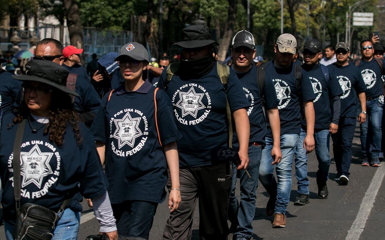 """Policía Federal fue un """"rotundo fracaso"""", reiteró el Gobierno Federal"""