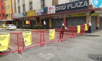 Cierran calles de la CDMX donde reparaban celulares para evitar contagios de Covid