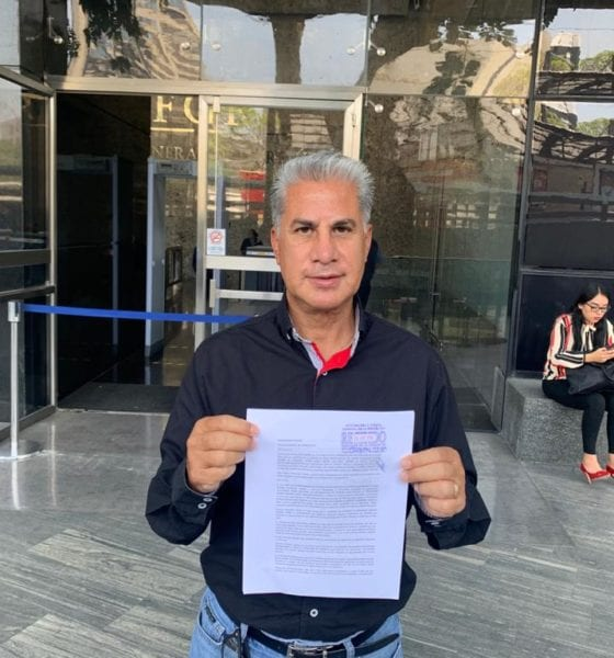 Alejandro Rojas Díaz Durán impugnará sanción de la CNHJ; buscará la presidencia de Morena. Foto: Twitter