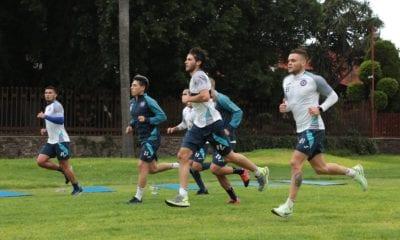 Baca y Rodríguez se integraron a los entrenamientos de Cruz Azul. Foto: Cruz Azul
