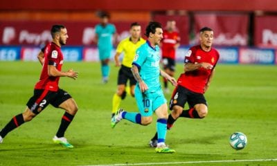 Barcelona le pegó al Mallorca. Foto: Twitter Barcelona