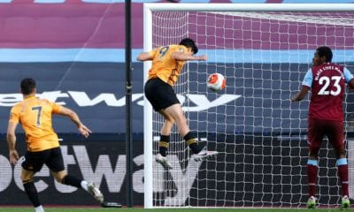 Golazo de Raúl Jiménez en victoria del Wolverhampton. Foto: Twitter Wolves en Español