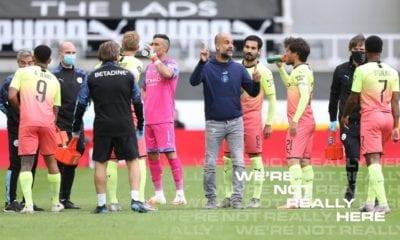 Guardiola podría regresar al Barcelona. foto: Twitter Manchester City