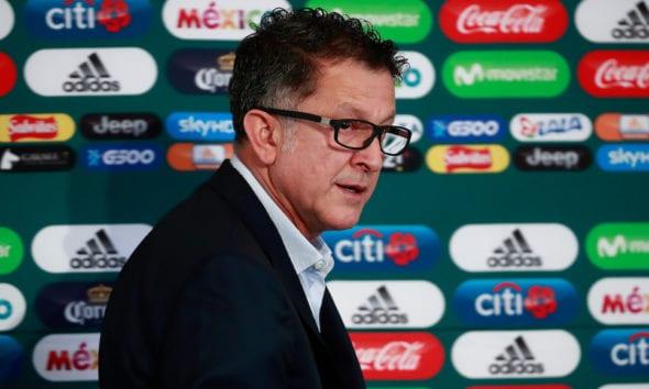 Juan Carlos Osorio, extécnico de la selección mexicana. Foto: Cuartoscuro