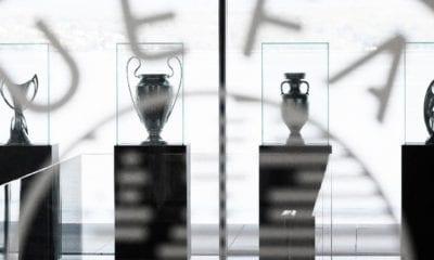 Listo el sorteo de la Champions League. Foto: UEFA