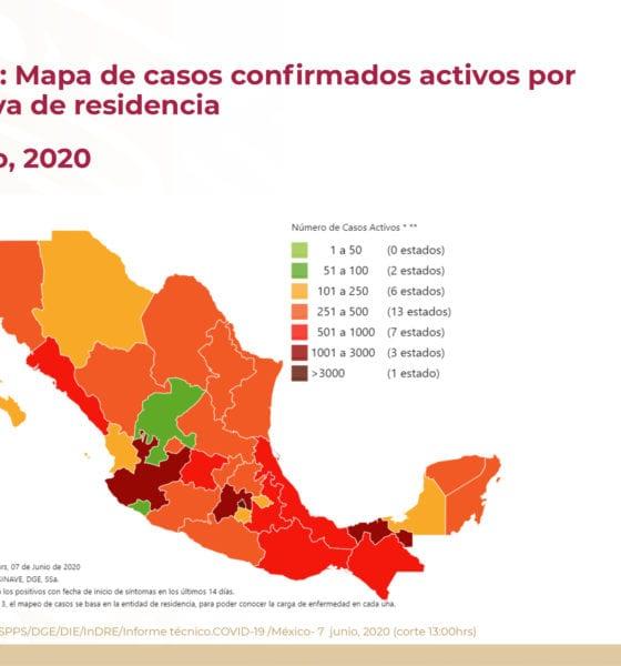 Mexico bajó en contagios y muertes por covid-19. Foto: Twitter