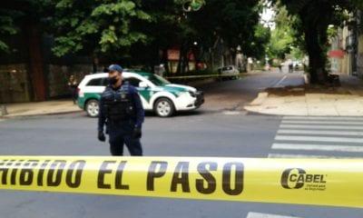 Piden apoyo para el traslado de cuerpo de Gabriela Gómez tras atentado. Foto: Israel Lorenzana