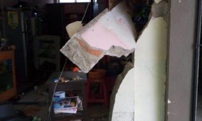 Pierde la vida una persona por fuerte sismo. Foto: Twitter