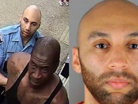 Queda libre segundo policía que estuvo implicado en el caso de George Floyd. Foto: Twitter