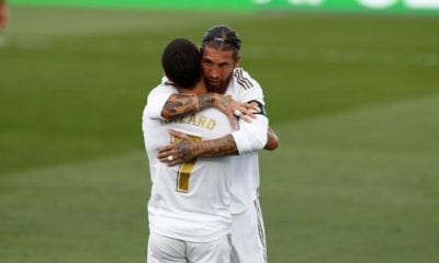 Real Madrid presiona al Barcelona. Foto: Real Madrid