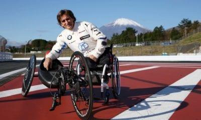 Reportan grave al expiloto de Fórmula 1 Alex Zanardi. Foto: BMW