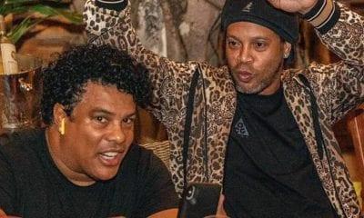 Sufre Ronaldinho por encierro domiciliario en lujoso hotel. foto: Twitter Ronaldinho