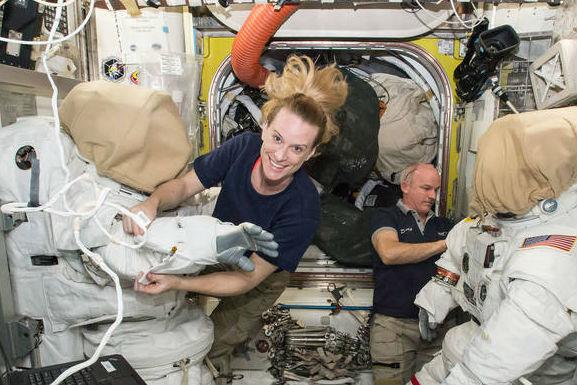 La astronauta Kate Rubins (Fuente: NASA)