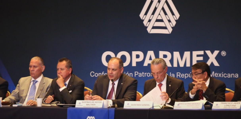 Coparmex critica medidas del Gobierno frente al covid-19