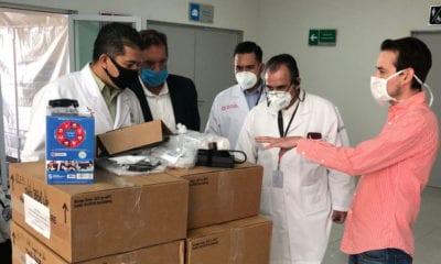 Juntos por la salud apoya con equipo e insumos al personal médico