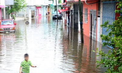 Evacuan a pobladores de Tabasco por efectos de la Tormenta Tropical Cristóbal