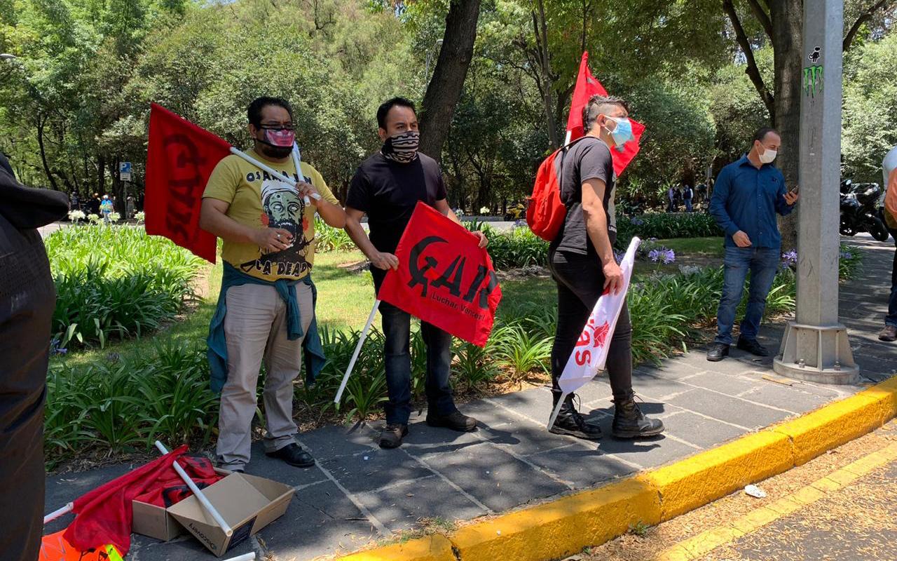 Protegen instalaciones de oficinas de Jalisco en la CDMX ante posibles ataques