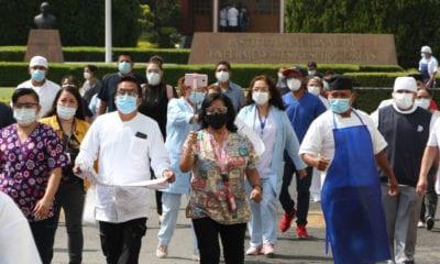 Alistan trabajadores de la salud marcha por falta de insumos; proponen darles bono