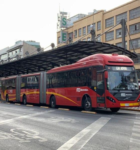 Metrobús cumple 15 años en la Ciudad de México