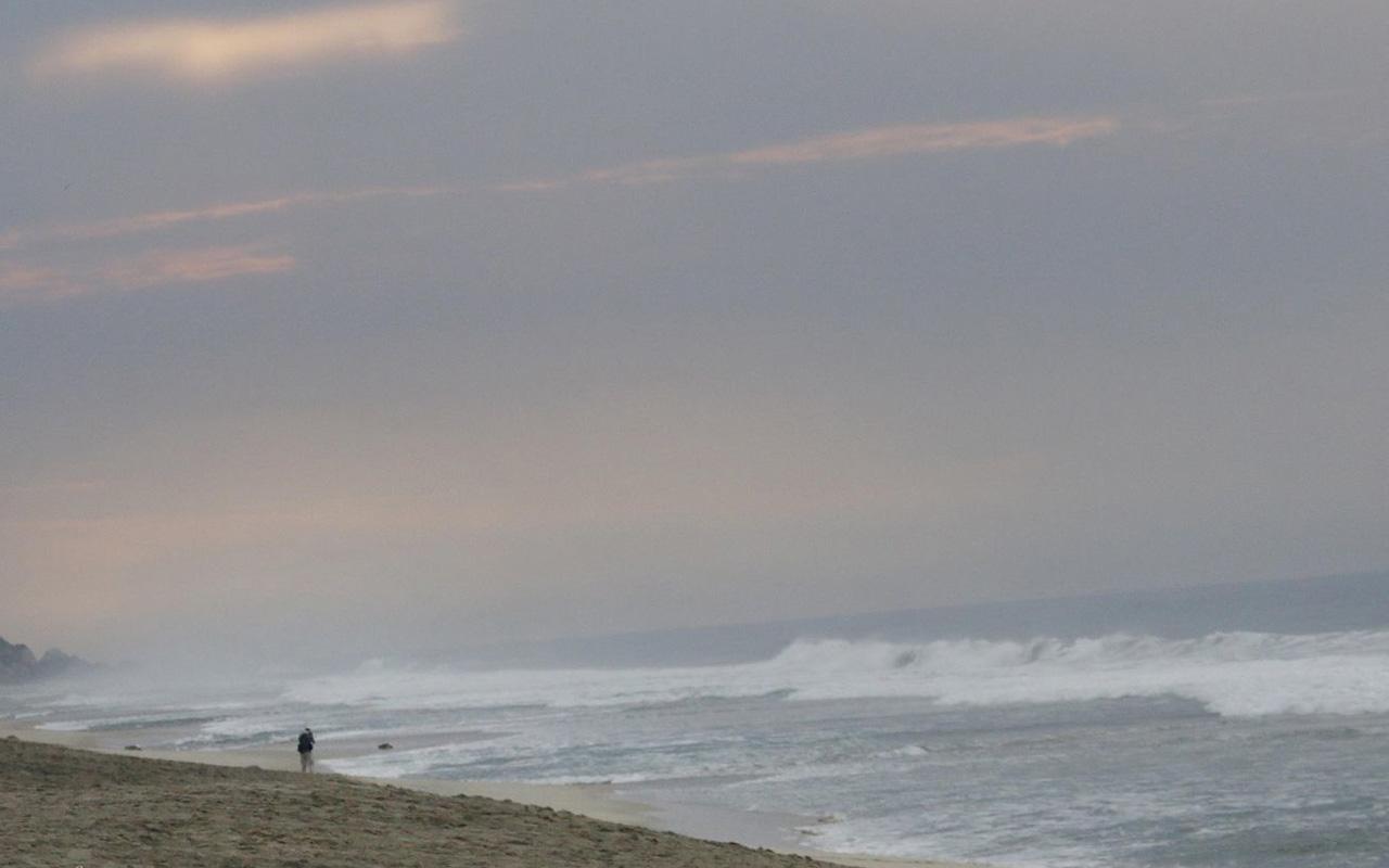 olas de un metro de altura por Tsunami se registraron en costas de Oaxaca
