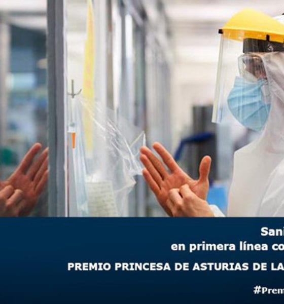 Otorgan Premio Princesa de Asturias al personal sanitario de España