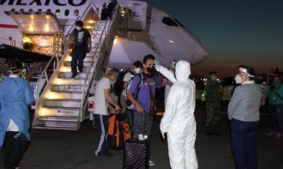 Sedena ayuda en repatriación de 999 mexicanos y el traslado de mil 551 extranjeros