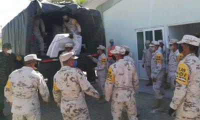 Marina, Defensa y GN combaten la delincuencia y dan asistencia humanitaria